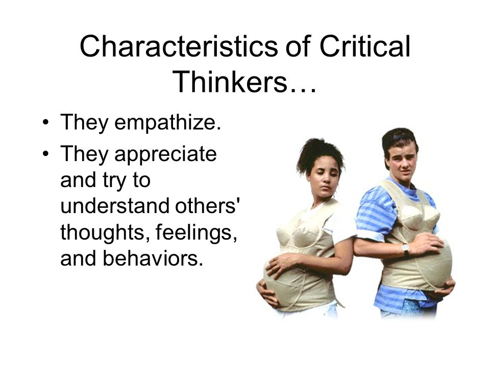 8 characteristics of critical thinking