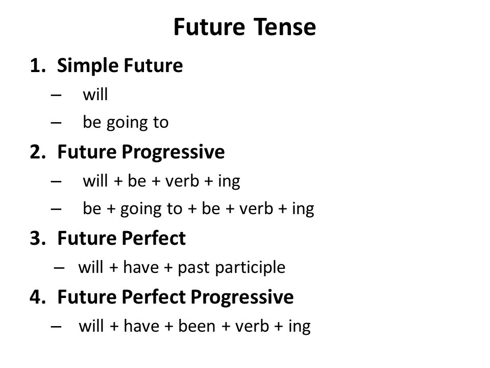 Which is a better tense future or future progressive?