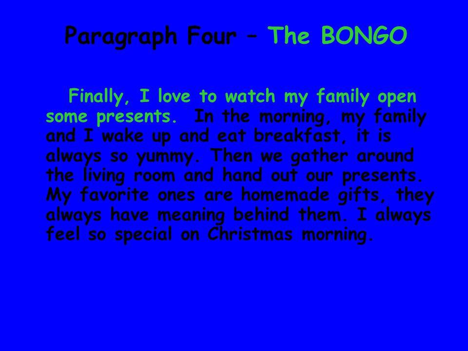 Write my essay family