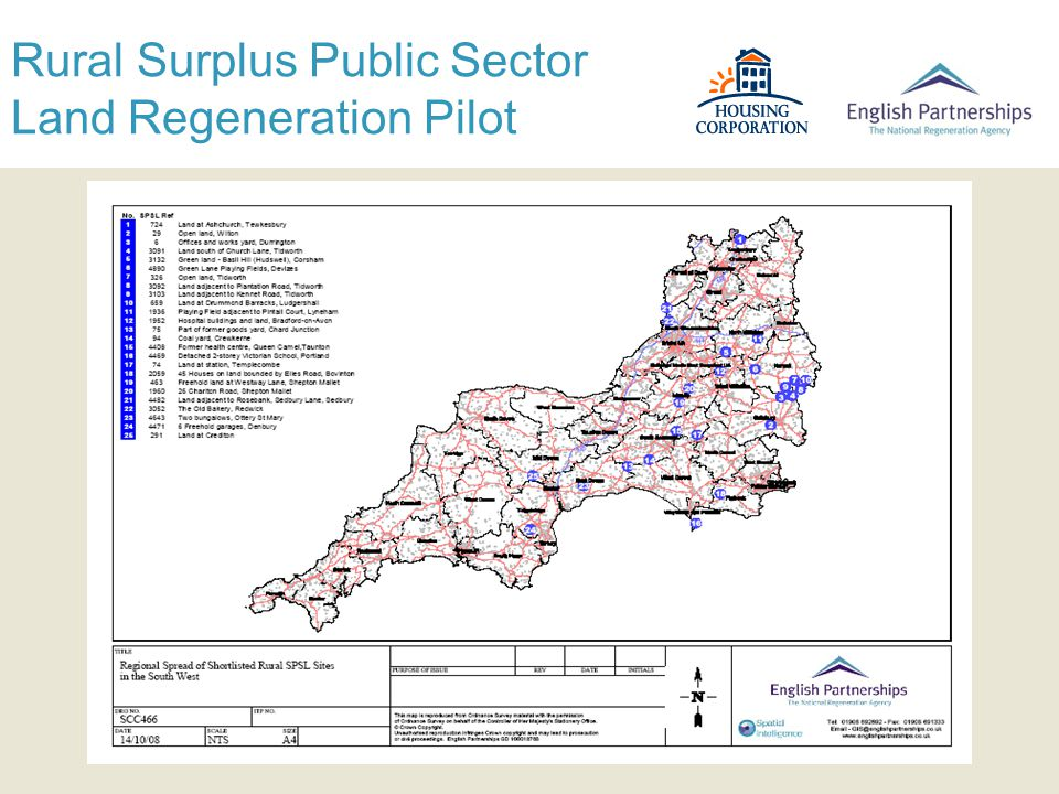 Rural Surplus Public Sector Land Regeneration Pilot