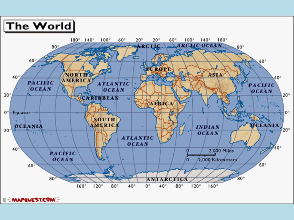 Fun Facts Continents And Oceans There Are Five Main Oceans In - 5 largest ocean in the world