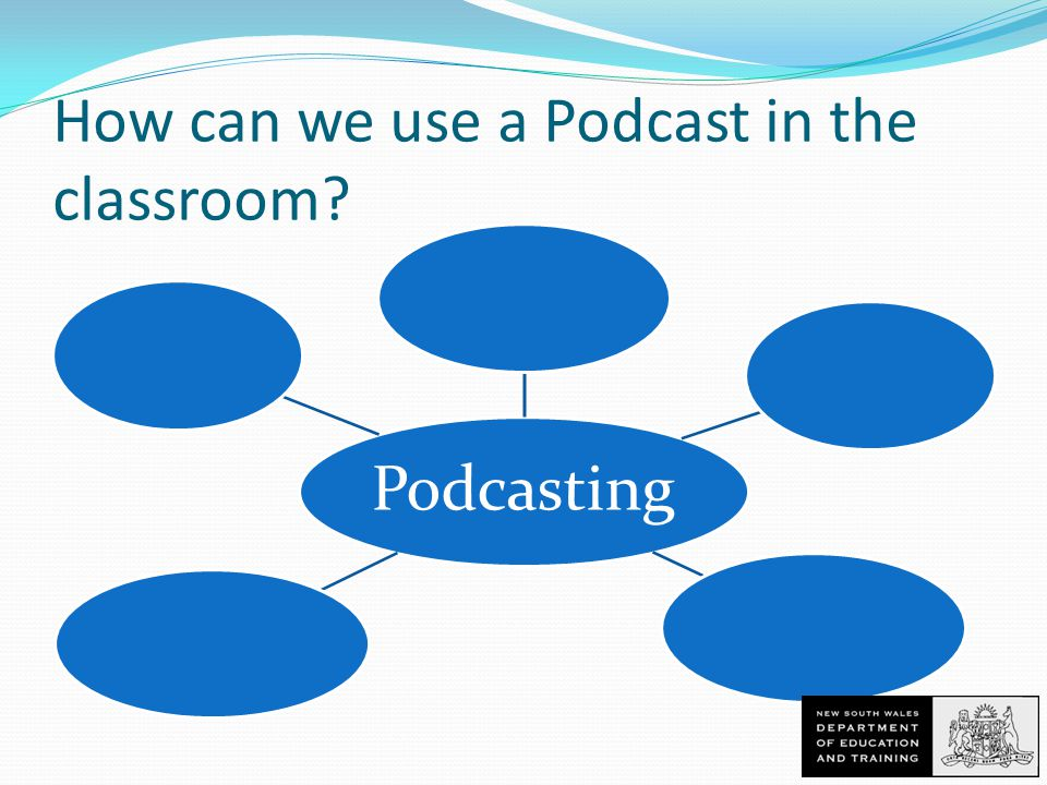 How can we use a Podcast in the classroom Podcasting