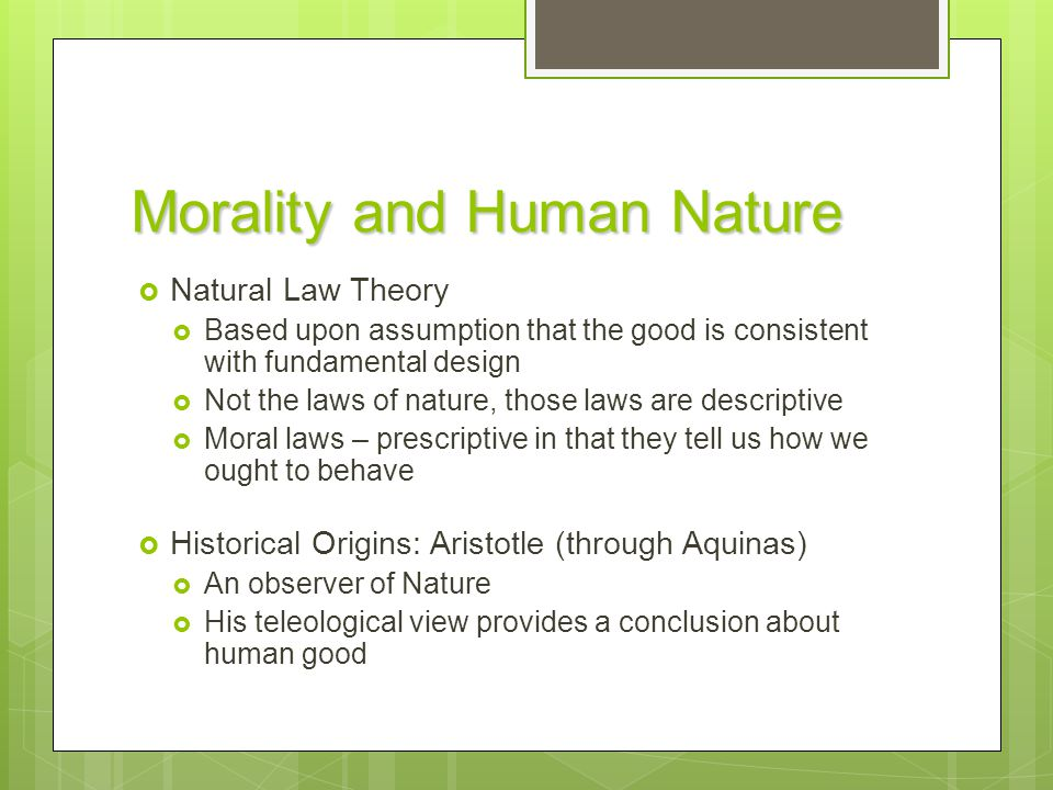 natural moral law The current ethical issue of abortion is a broad and complex ethical issue which can be approached from many moral and ethical directions two such directions can be the deontological natural moral law and the teleological or.