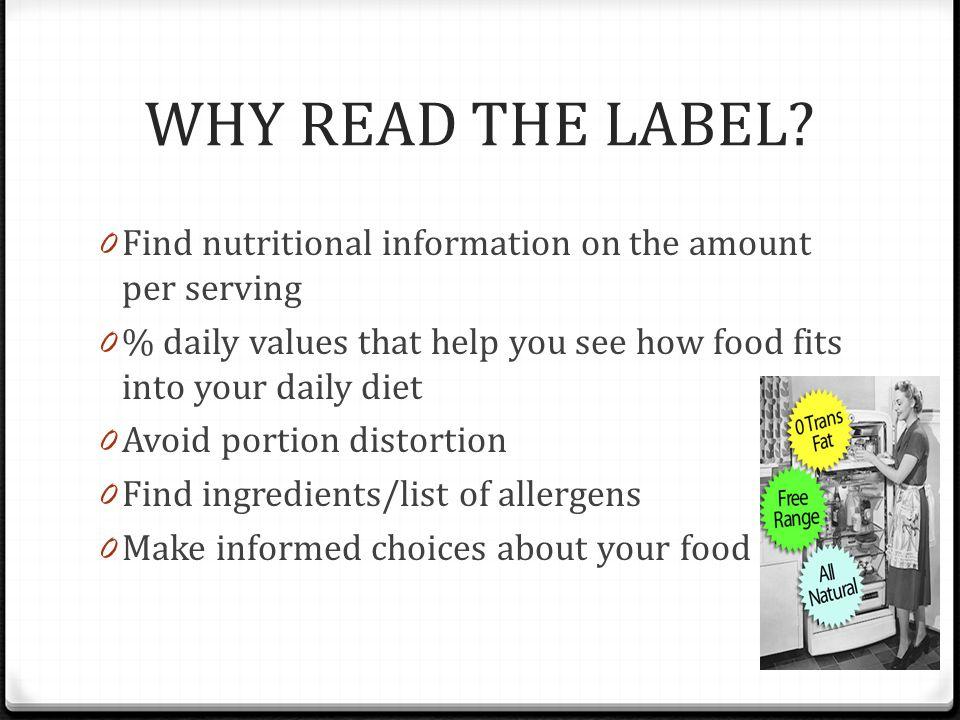Worksheet Reading Labels Worksheet reading food labels 0 test your knowledge label worksheet why read the find nutritional information on amount per serving 0