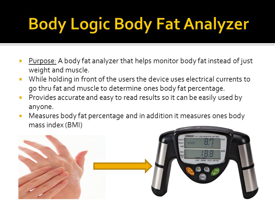  Use: To keep track of ones body measurements and their progress towards losing body fat.