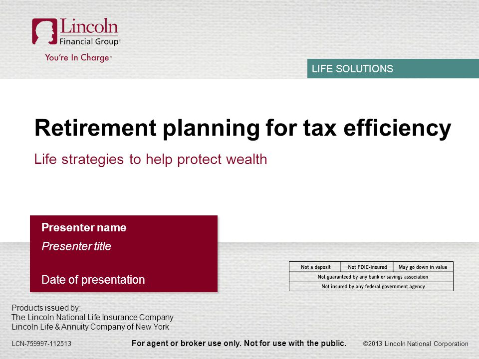 presentation insurance life lincoln slideshow national annuities investor financial group lnc