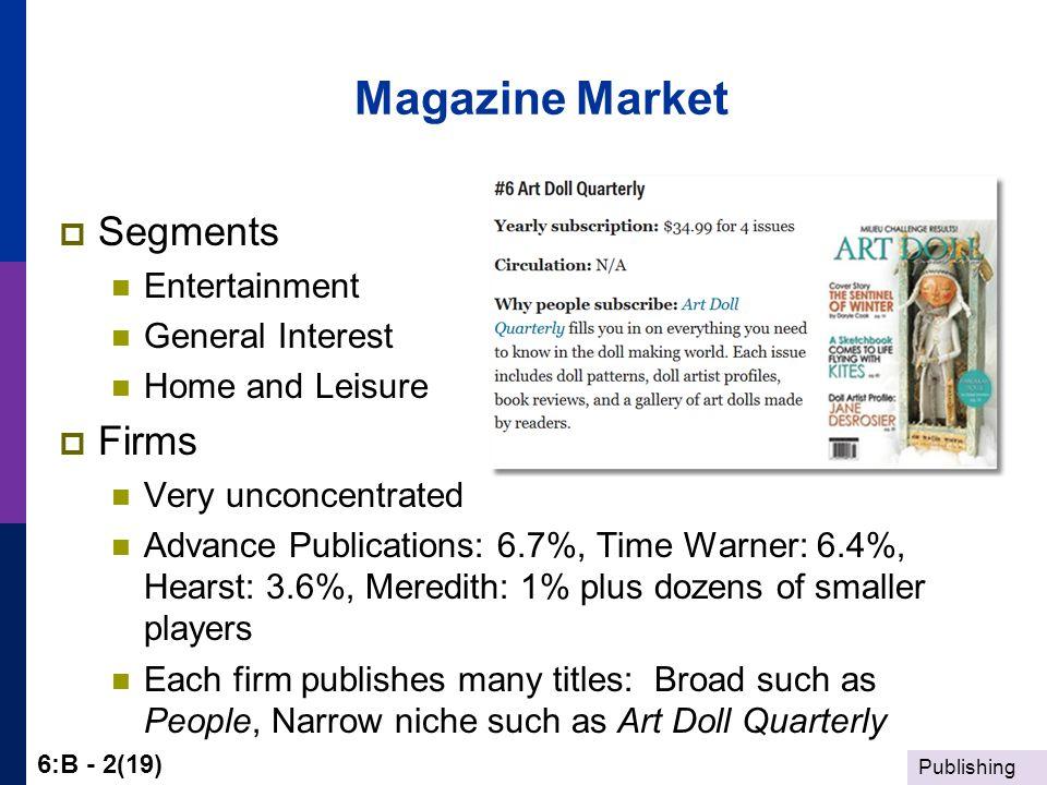 general interest magazines