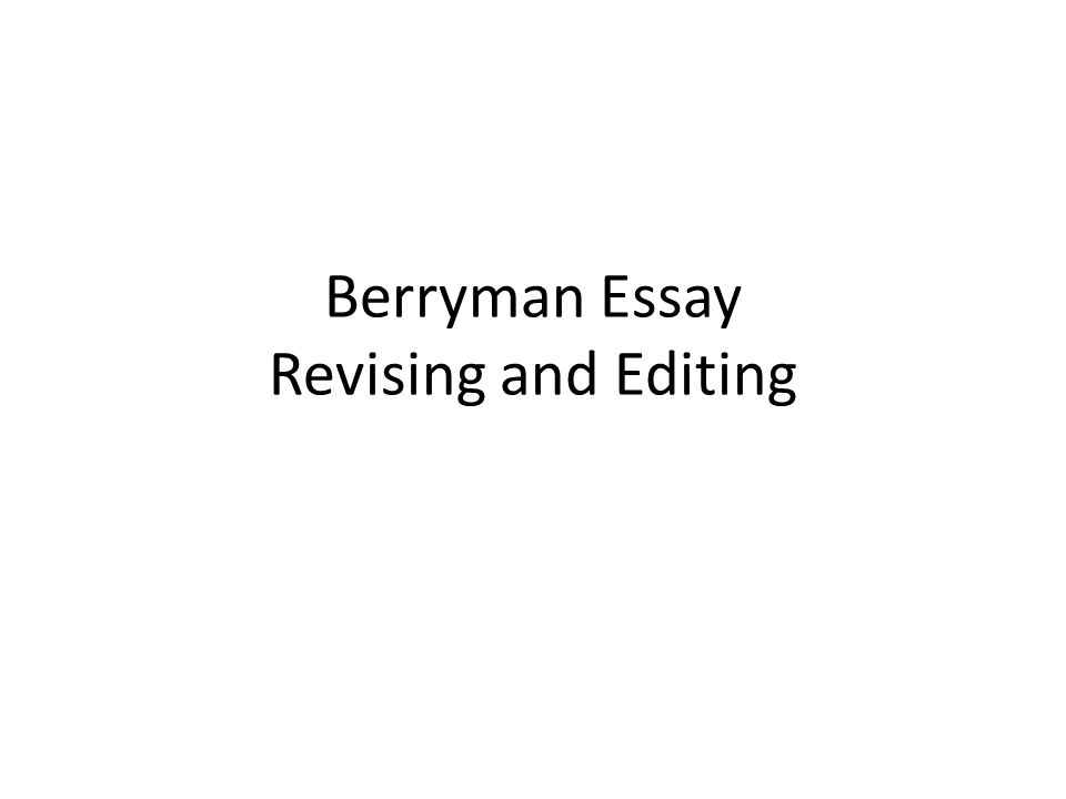 "steps on revising a essay From first draft to final draft: how to revise an essay after you finish the first draft of an essay, a sense of calm settles over your body ""at last,"" you say, ""i'm done."
