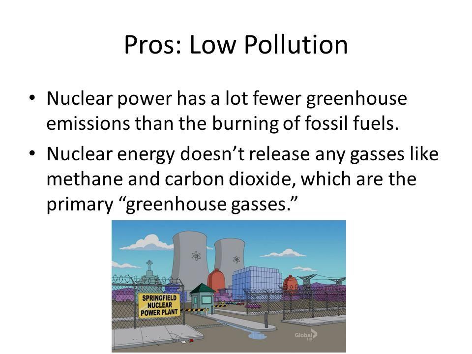 nuclear power pros cons