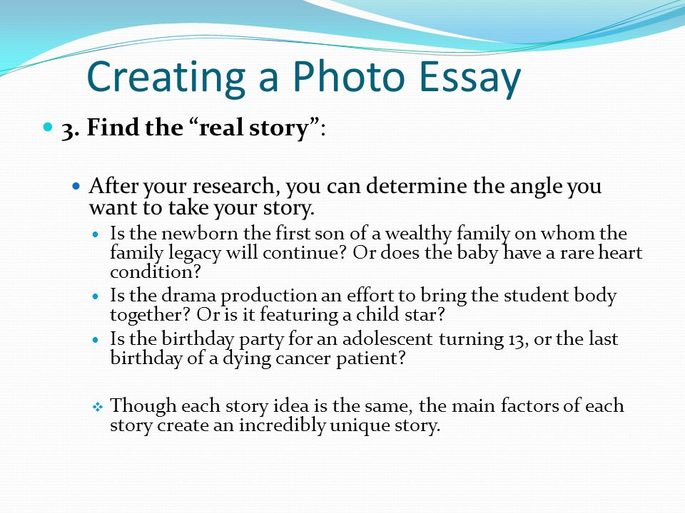 creating a story essay How to write a narrative essay it's typically somewhere between a short story and a regular essay that you thanks to all authors for creating a page that.