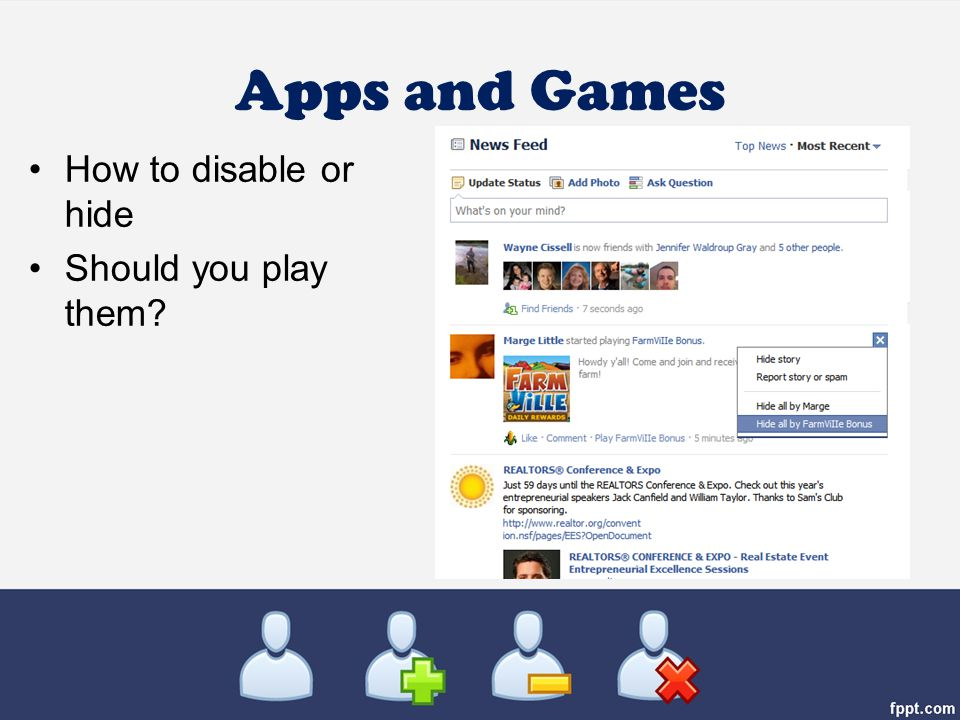 Apps and Games How to disable or hide Should you play them