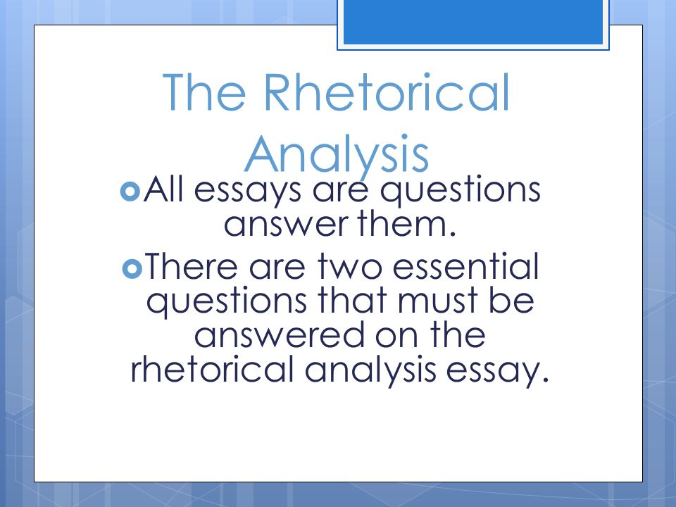 rhetorical analysis essay on a poem His poems i, too and theme for you just finished sample compare and contrast essay - langston hughes sample character analysis essay - hamlet essay.