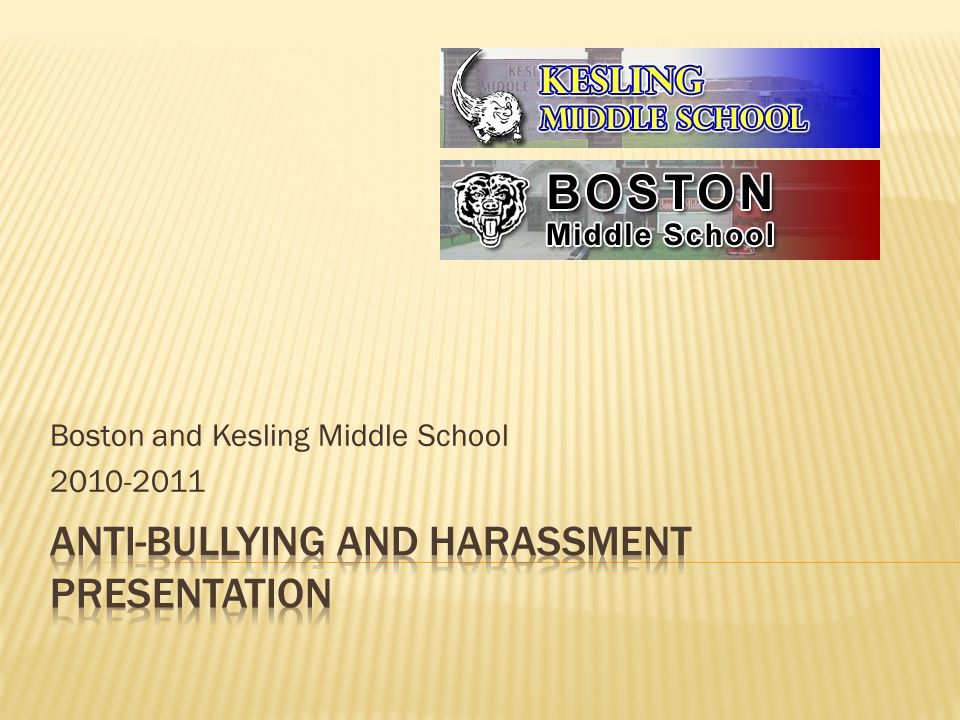 Boston and Kesling Middle School
