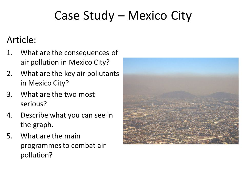 air pollution case study in the philippines Case study on environmental pollution environmental pollution a case study by sources of air pollution.