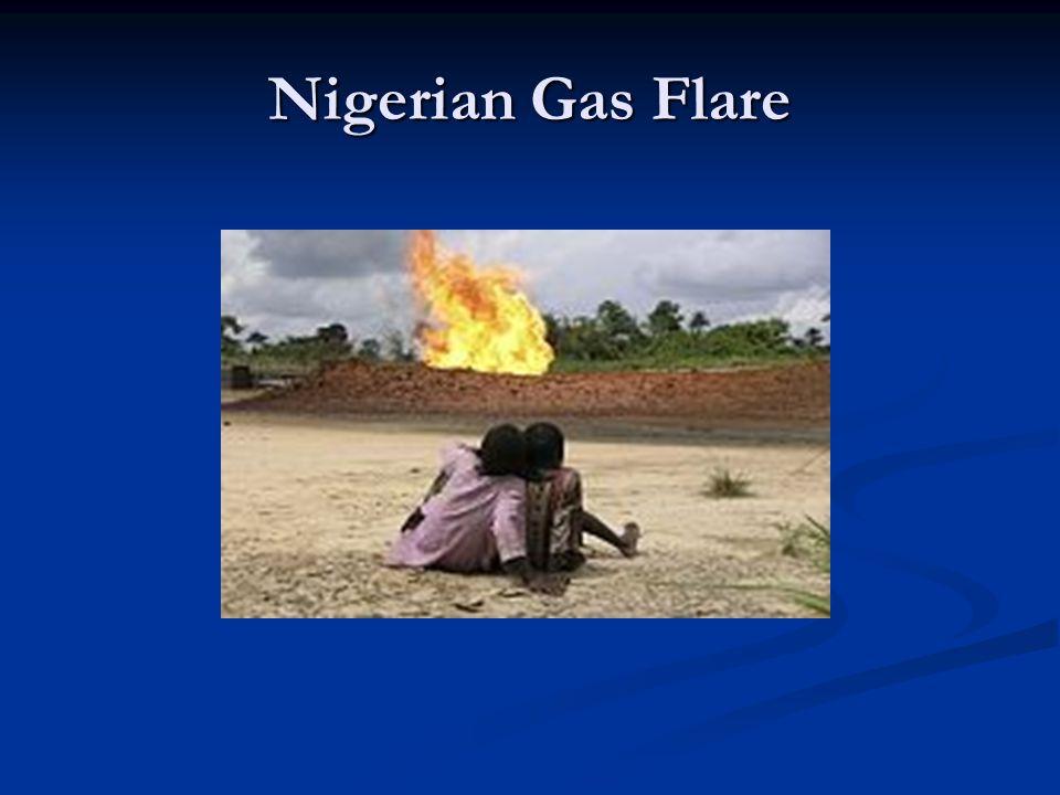 Nigerian Gas Flare