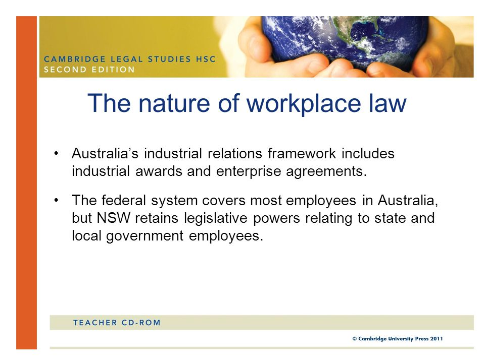 Chapter 13 option 4 workplace in this chapter you will study the australias industrial relations framework includes industrial awards and enterprise agreements platinumwayz