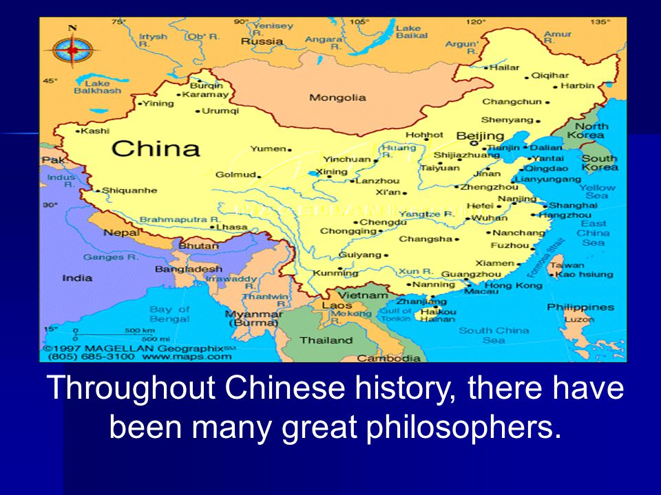 Throughout Chinese history, there have been many great philosophers.