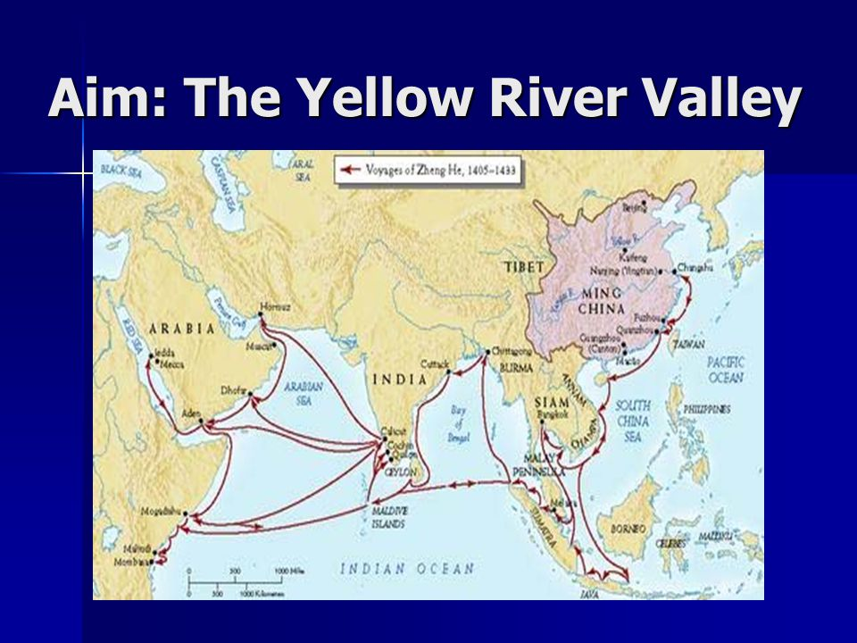 Aim: The Yellow River Valley