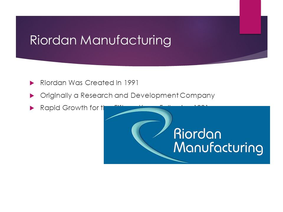 riordan manufacturing it budget university of phoenix Riordan manufacturing university of phoenix mba530 human capital development april 11, 2007 abstract the following paper will provide a brief background explanation.