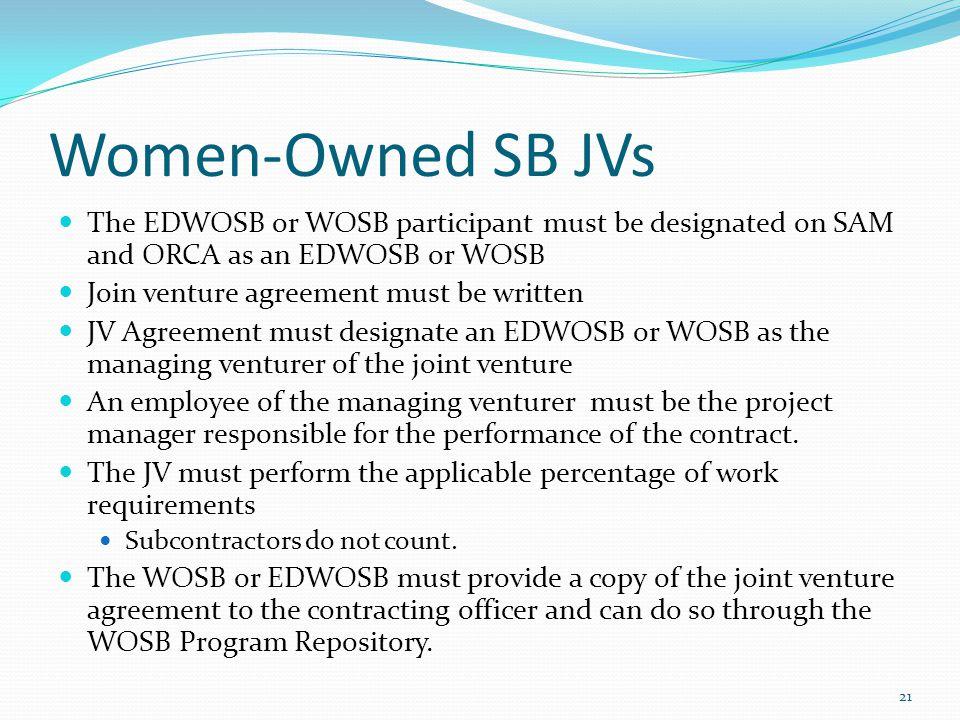 1 june joint venture a joint venture is an association of 21 women owned platinumwayz