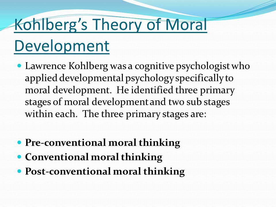 Lawrence Kohlberg Theory 12907 | BITNOTE