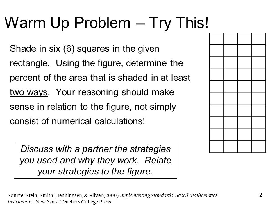 1 What Does It Mean to Teach Foundational-Level Mathematics? - ppt ...