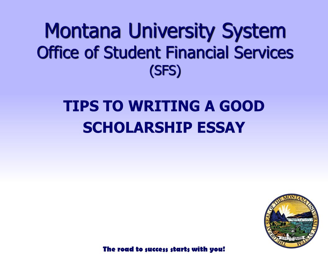 writing a good scholarship essay Are you looking for tips how to prepare a good scholarship essay our professional writers offer scholarship essay writing guidelines for college or high school.