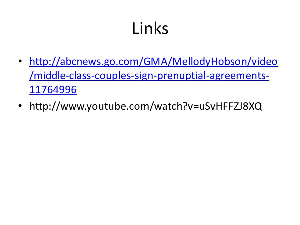 Links   /middle-class-couples-sign-prenuptial-agreements /middle-class-couples-sign-prenuptial-agreements v=uSvHFFZJ8XQ