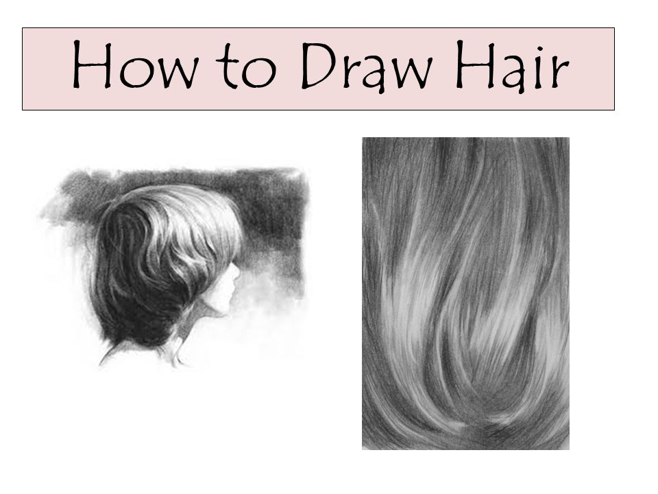 1 How To Draw Hair