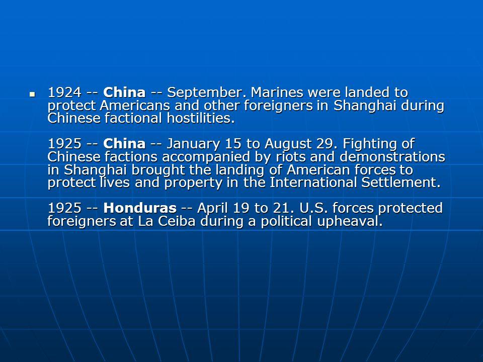 1924 -- China -- September.