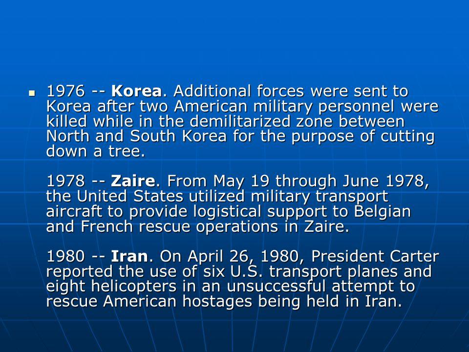 1976 -- Korea.