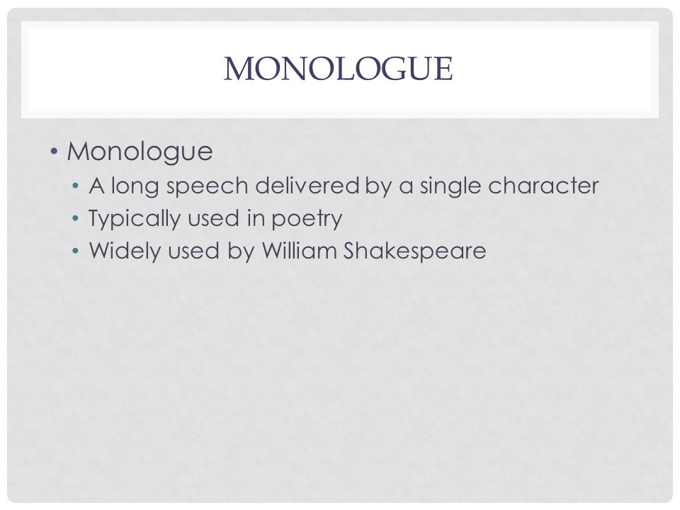 The seven ages of man monologue monologue a long speech 2 monologue a long speech delivered by a single character typically used in poetry widely used by william shakespeare ccuart Image collections