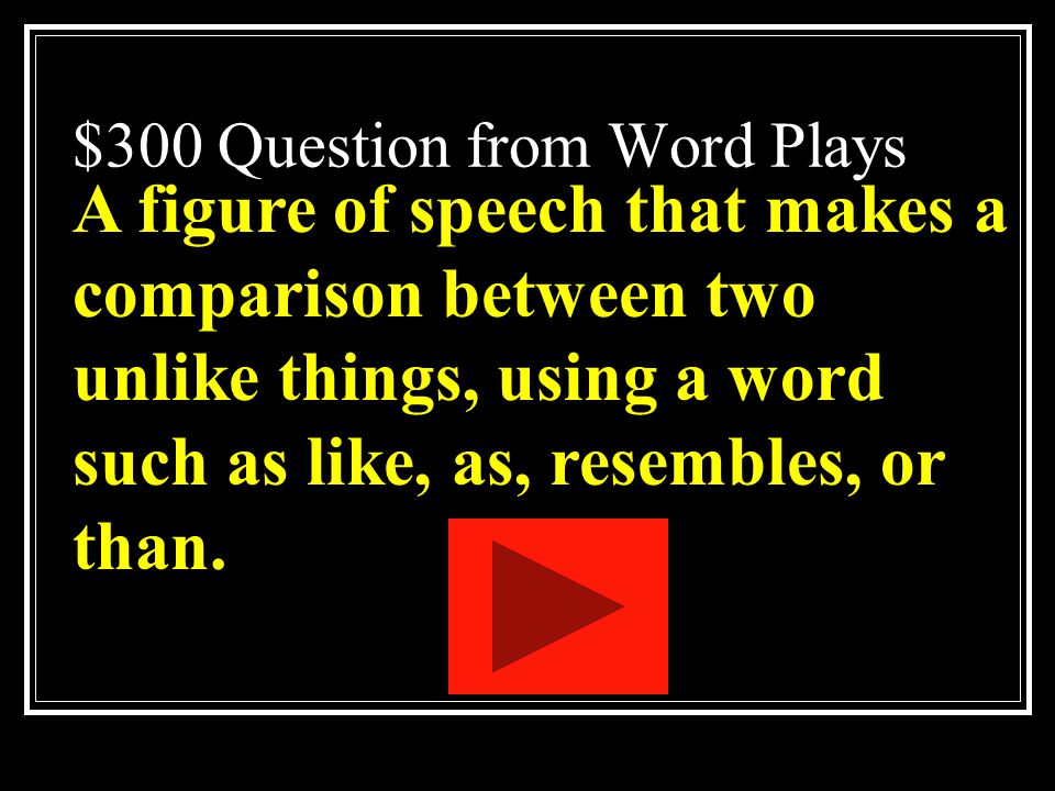 $200 Answer from Word Plays What is an anyomym