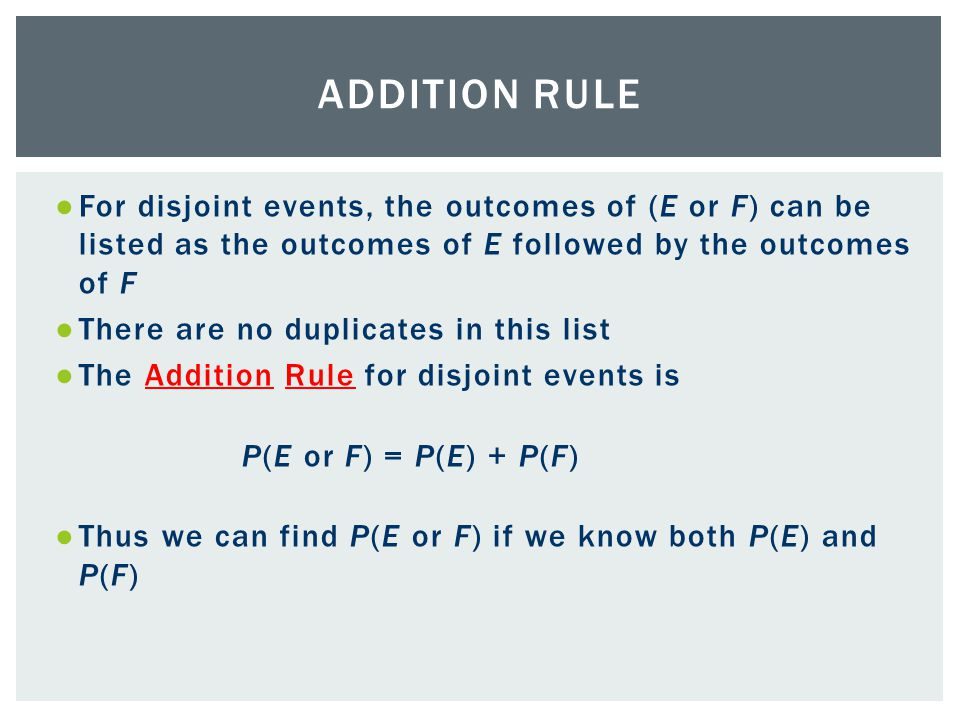 The Addition Rule And Complements 52 Venn Diagrams Provide A