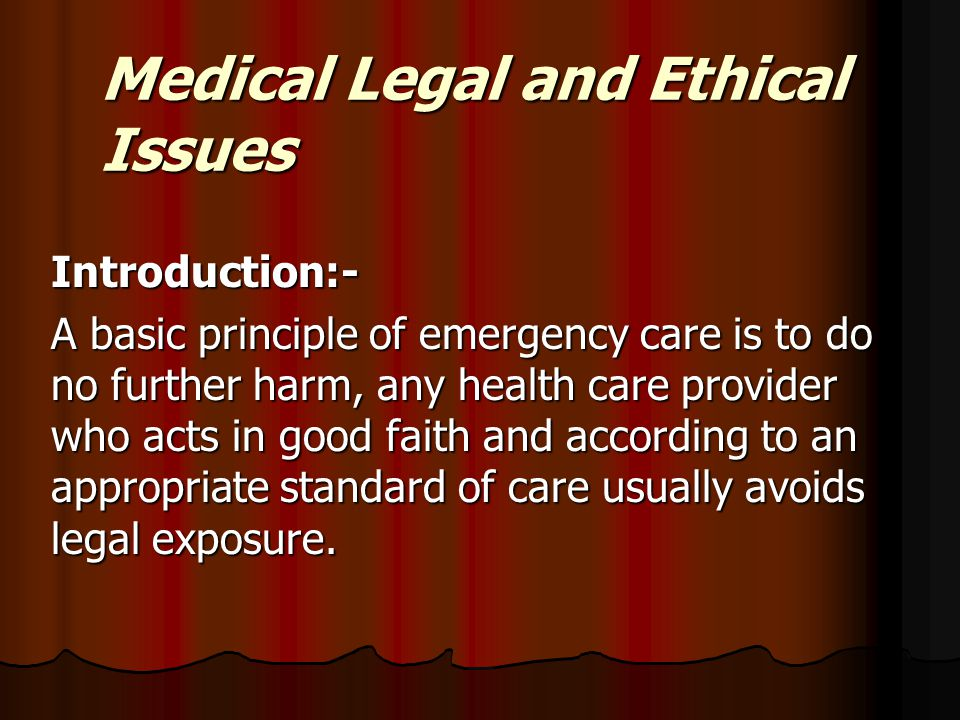 legal issues in health care delivery 33 legal, ethical, and safety issues in the healthcare workplace learning objectives did you know that † the healthcare industry is one of the most regulated industries in the united states.