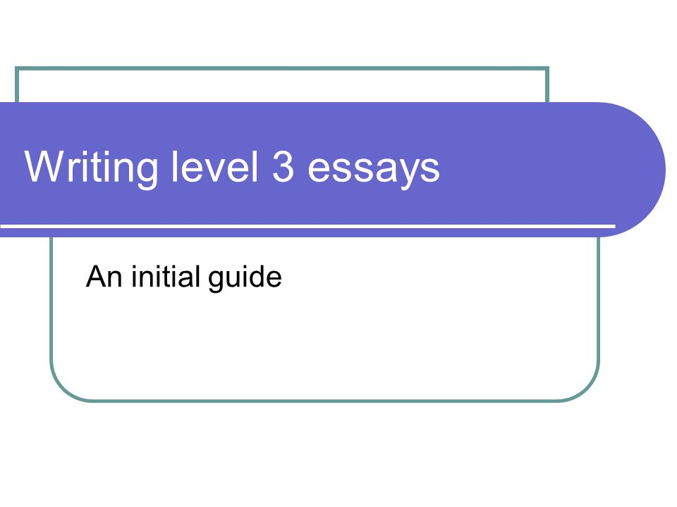 Initial insight how to write a outline for a research paper