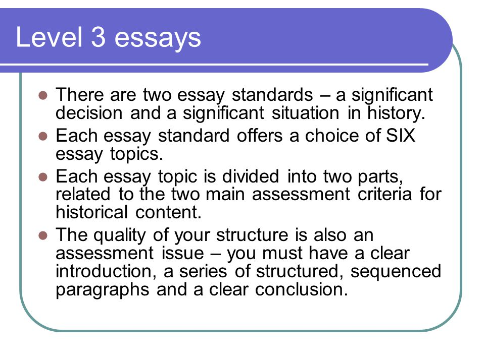 the third level essay