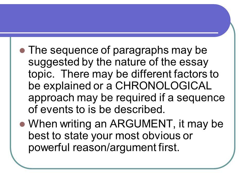 essays at third level