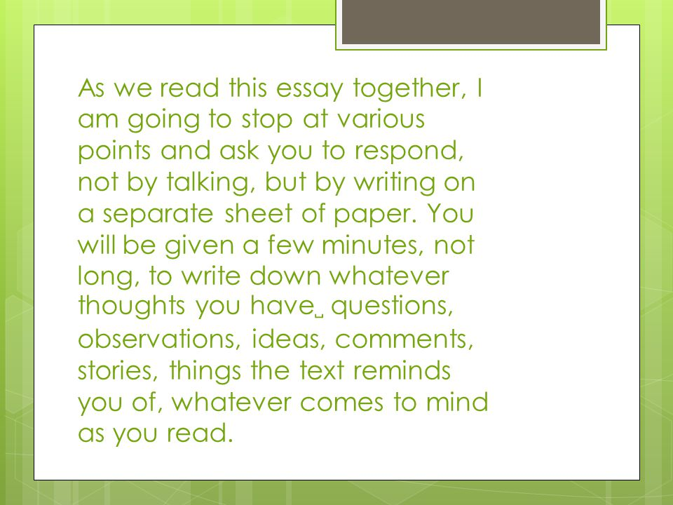 caring together essay The purpose of a compare and contrast essay is to analyze the differences and/or the similarities of two distinct subjects a good compare/contrast essay doesn't only point out how the subjects are similar or different (or even both.