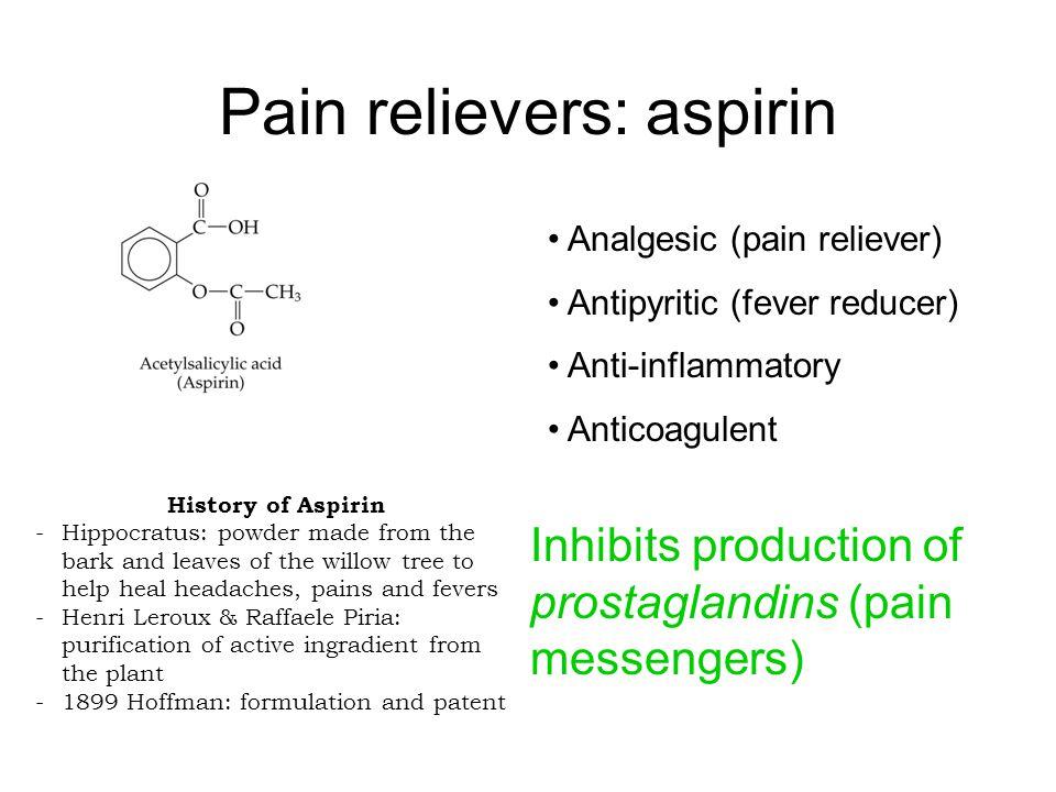 Is aspirin an anti-inflammatory?