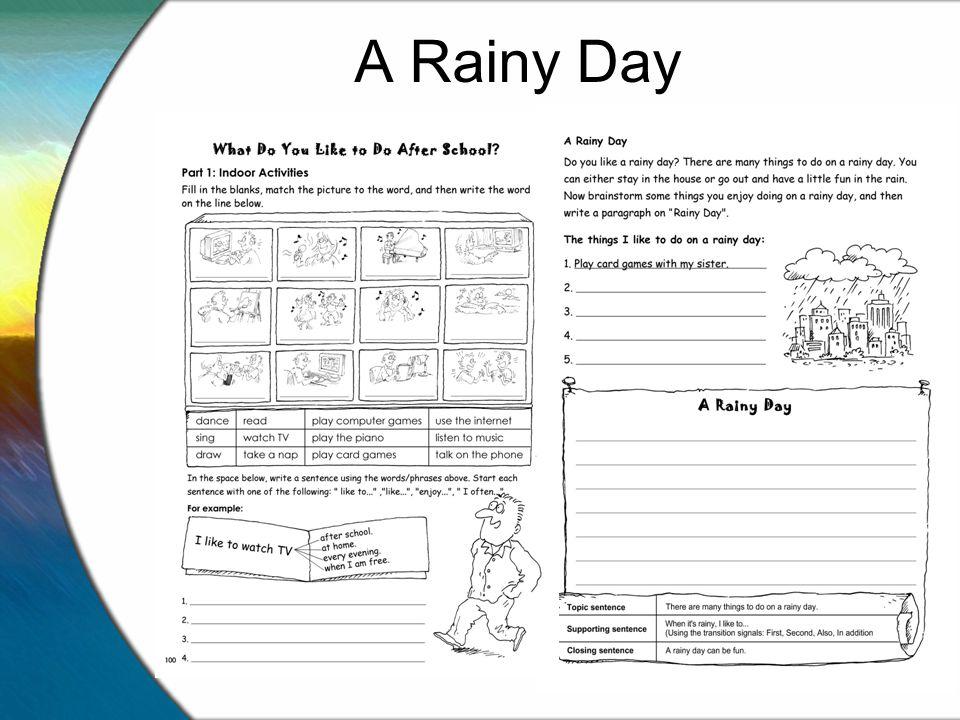 Essay Rainy Day A Rainy Day Essay For Kids English Essay Speech English  Essay Medea Essay