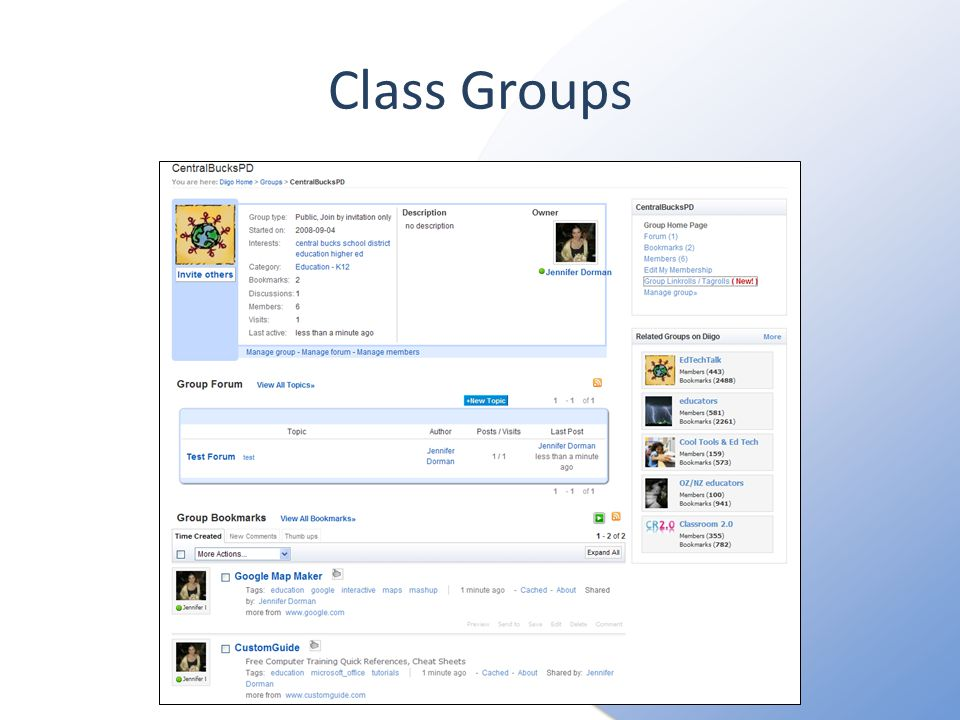 Class Groups