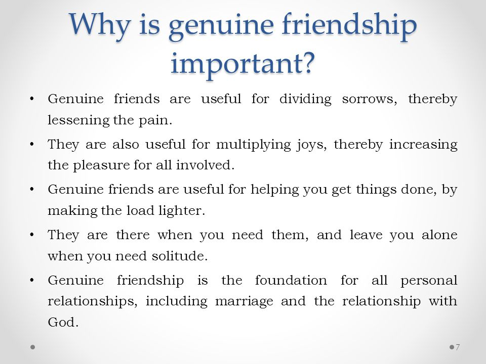 why friendship important Why is friendship important for a college student friendship is important, to one degree or another, for everyone but when you go through college you not only expand your.