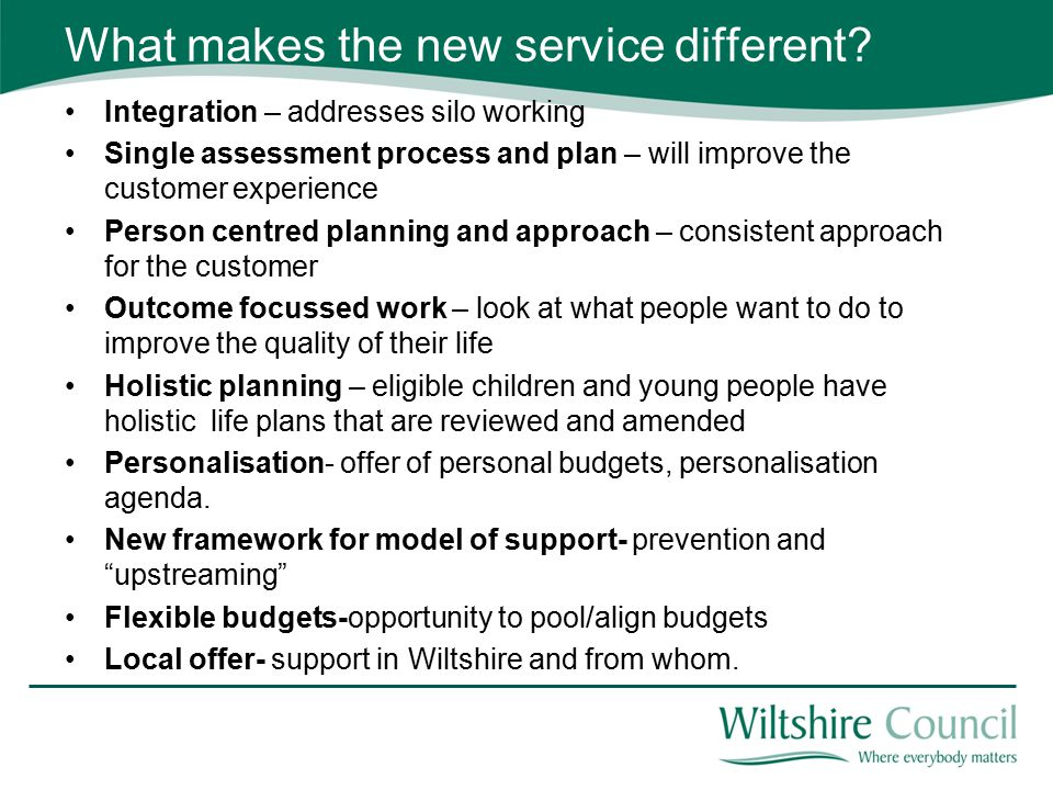 What makes the new service different.