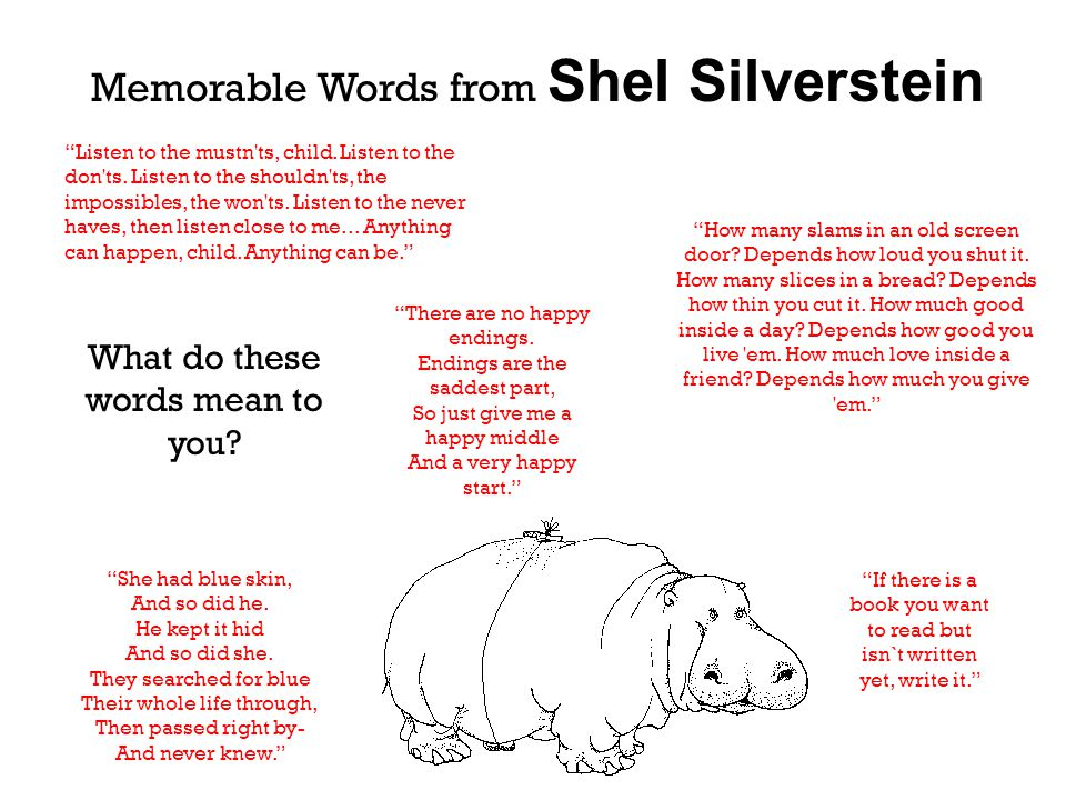 "Presentation ""Shel Silverstein 1930-1999. What We Know About Shel ..."