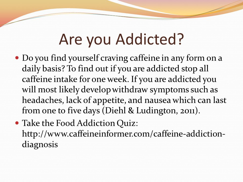 the effect of caffeine in human