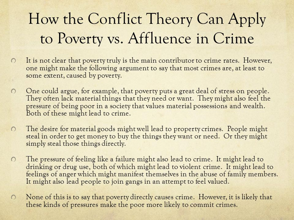 poverty and crimes essay Short Essay on Poverty and Crime