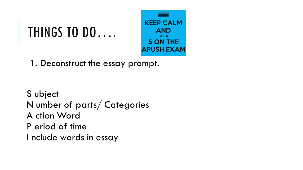 long essay writing by jocelyn bello paez things to do  deconstruct the essay prompt