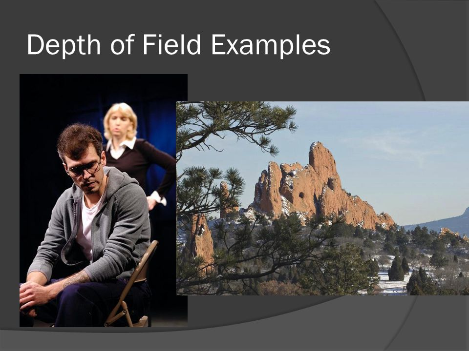 Depth of Field Examples