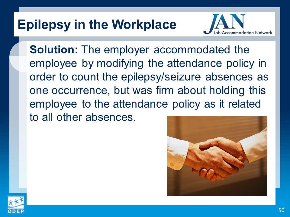 workplace attendance